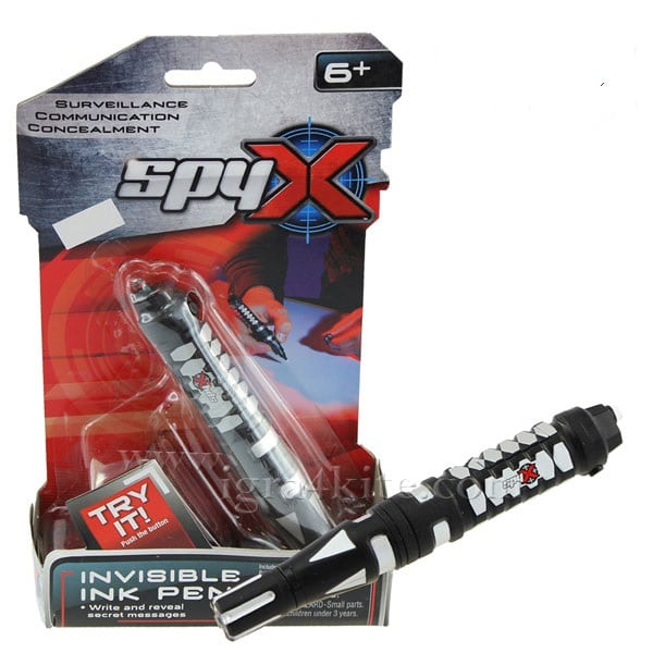 עט דיו בלתי נראה - SPY X