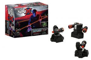 מלכודת לייזר מתריעה - SPY X