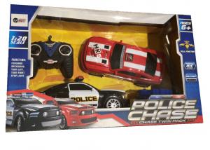 זוג מכוניות על שלט 1:20 - Police Chase