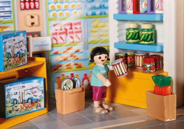 פליימוביל - חנות מכולת במארז נשיאה 70320