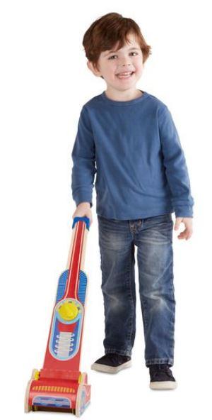 שואב אבק לילדים - מליסה ודאג