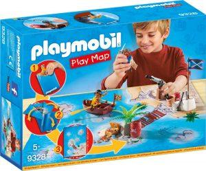 פליימוביל - הרפתקאות פיראטים - מפת משחק 9328