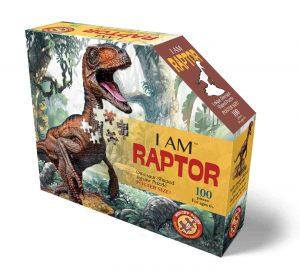 פאזל צורני דינוזאור - 100 חלקים