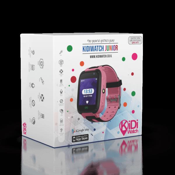 שעון טלפון חכם Kidiwatch Junior בצבע ורוד