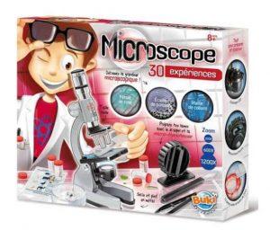 ערכת מדע - מיקרוסקופ עם 30 ניסויים מדעיים
