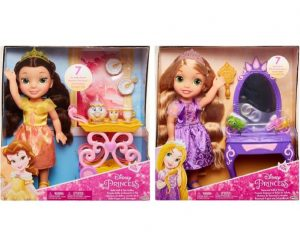 בובה לבחירה של נסיכות דיסני עם אביזרים