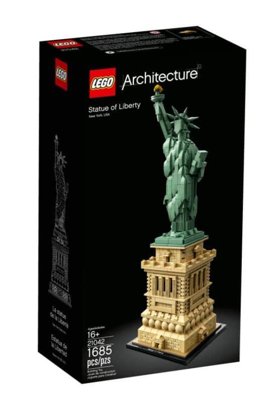 לגו ארכיטקטורה - פסל החירות 21042