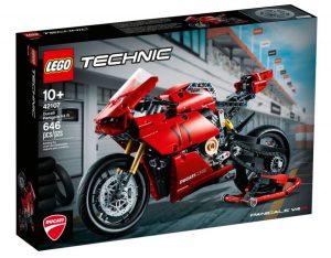 לגו טכני - אופנוע דוקאטי אדום 42107