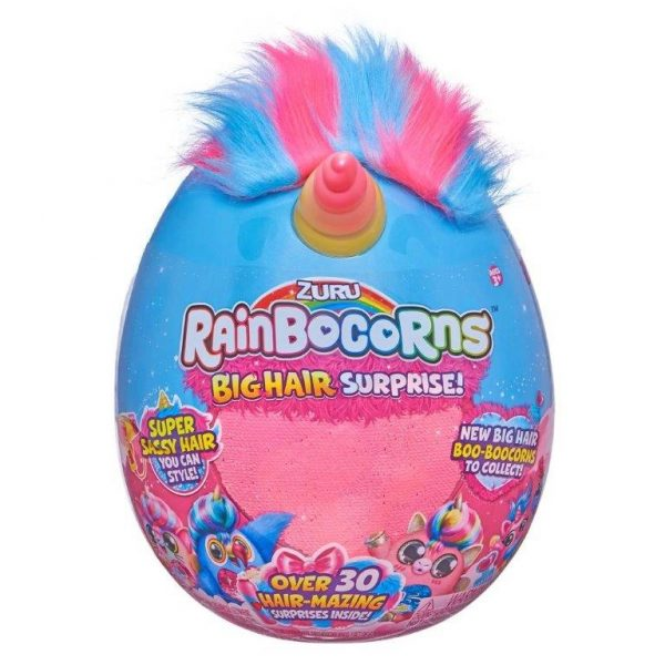 ביצת ריינבוקורן Rainbocorns Big Hair - שיער ענק