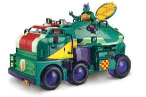 צבי הנינג'ה - משאית שיריון