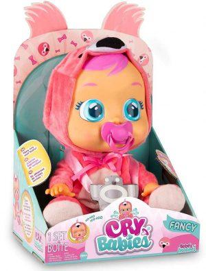 Cry Babies - קריי בייביז בובת תינוק בוכה עם דמעות אמיתיות - פנסי