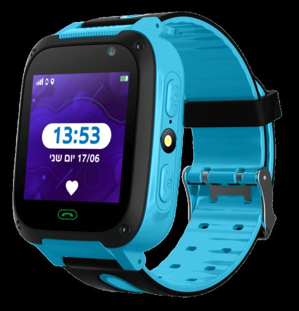 שעון טלפון חכם Kidiwatch Junior בצבע כחול