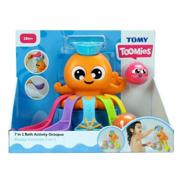 פעלולון תמנון לאמבטיה - טומי
