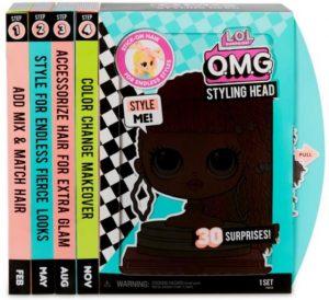 LOL Surprise - לול ראש בובה לעיצוב תסרוקות