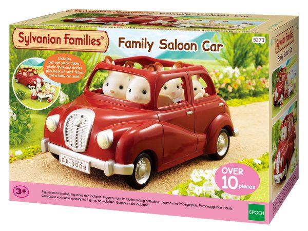 משפחת סילבניאן - מכונית אדומה