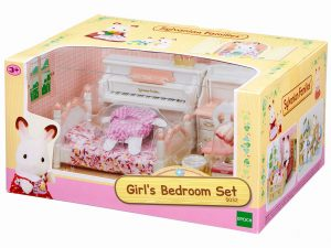 משפחת סילבניאן - ערכת חדר שינה לבנות