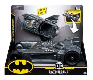DC - הבאטמוביל של באטמן 2 ב-1