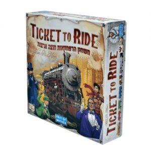 כרטיס נסיעה - Ticket To Ride