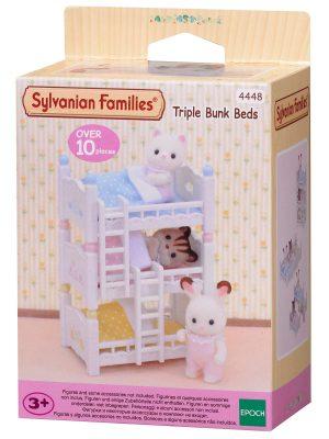 משפחת סילבניאן - מיטת שלוש קומות