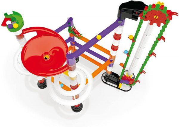 קווארצ'טי - מנהרת גולות עם מנוע ידני דגם 6576 - 150 חלקים