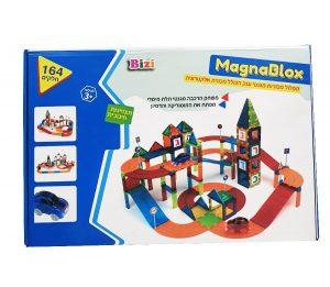 MagnaBlox - מסלול מכוניות מגנטי ענקי עם מכונית אלקטרונית