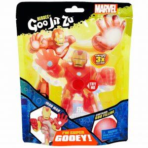 Goo Jit Zu - בובת איירון מן נמתחת