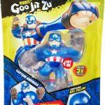 32912Goo Jit Zu – בובת קפטן אמריקה נמתחת