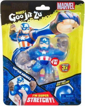 Goo Jit Zu - בובת קפטן אמריקה נמתחת