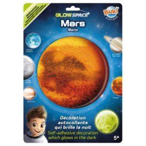 מדבקות זוהרות בחושך מאדים - בוקי צרפת