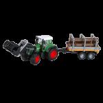 35880טרקטור פנדט 926 + כף ועגלה – ברודר 1163