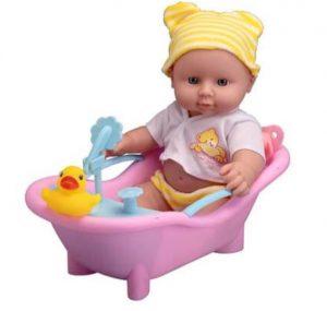 Star Kidz - בובת תינוק עם אמבטיה