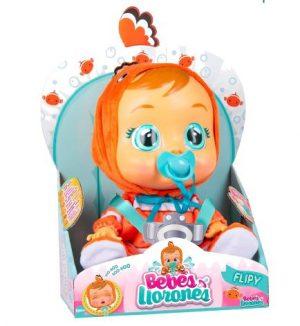 Cry Babies - קריי בייביז בובת תינוק בוכה עם דמעות אמיתיות - פליפי