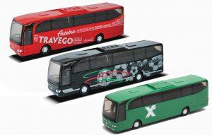 WELLY - אוטובוס ממתכת לבחירה