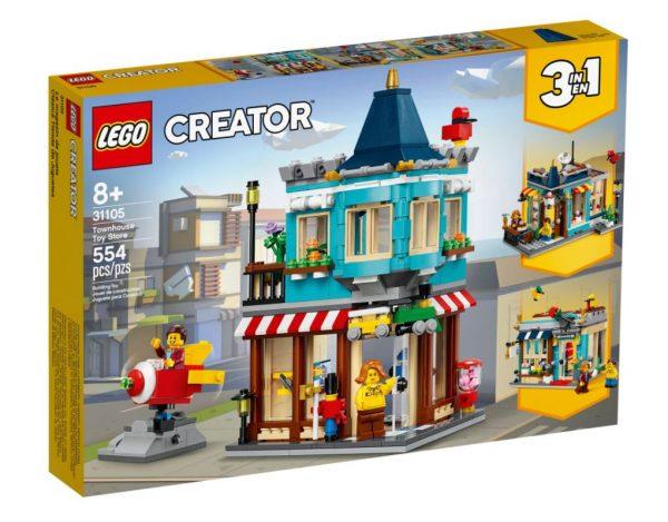 לגו קריאטור - חנות צעצועים 31105