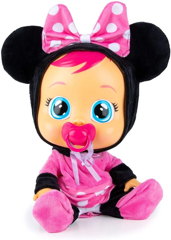 Cry Babies - קריי בייביז בובת תינוק בוכה עם דמעות אמיתיות - מיני מאוס