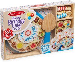 עוגת יום הולדת מעץ - מליסה ודאג