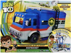 בן 10 - משאית ראסטבקט טרנספורטר