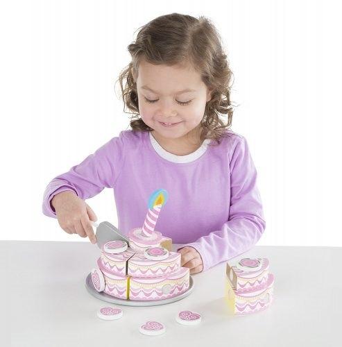 ערכה להכנת עוגה חגיגית 3 שכבות מעץ - מליסה ודאג