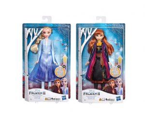 פרוזן 2 - בובה מאירה של אלזה / אנה לבחירה