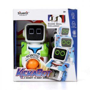 סילברליט - רובוט קיקבוט עם שלט רחוק המשחק כדורגל