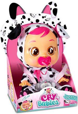 Cry Babies - קריי בייביז בובת תינוק בוכה עם דמעות אמיתיות - דוטי