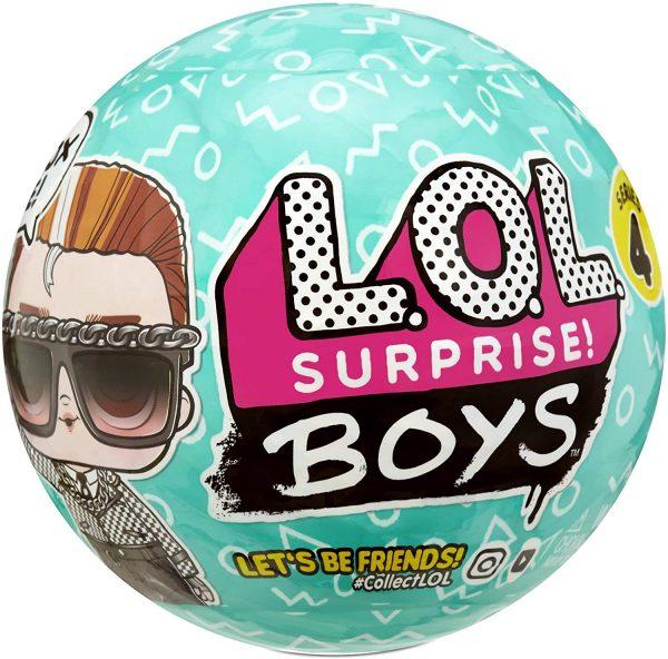 LOL Surprise Boys - לול בנים סדרה 4