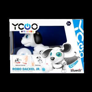 סילברליט - רובוט כלב תחש על שלט