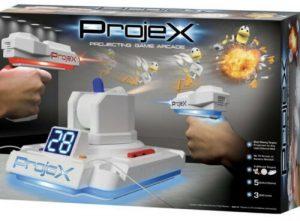 Projex - זוג אקדחי לייזר עם מקרן מטרות קופצות