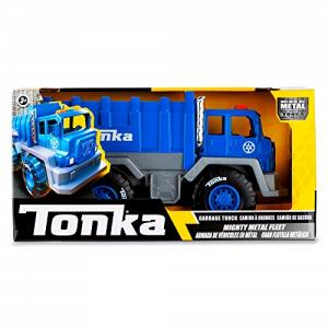 Tonka - משאית זבל כחולה ממתכת