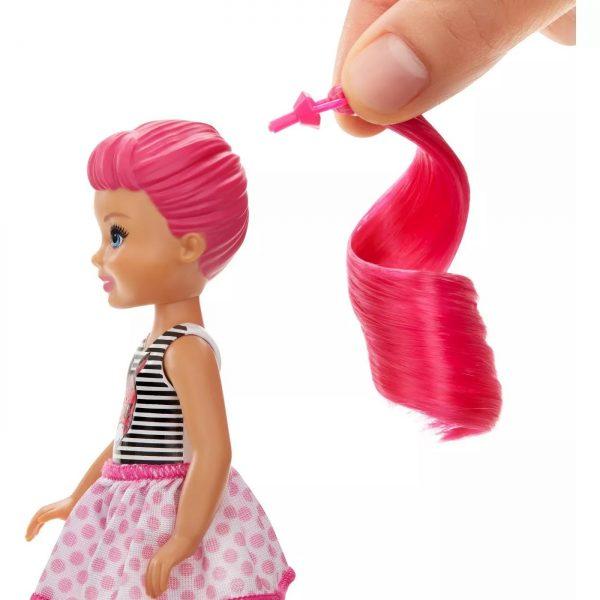 ברבי מחליפת צבע דמות קטנה
