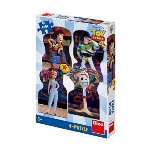פאזל 4X54 חלקים - צעצוע של סיפור 4