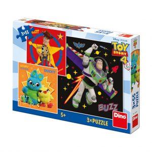 פאזל 3X55 חלקים - צעצוע של סיפור 4