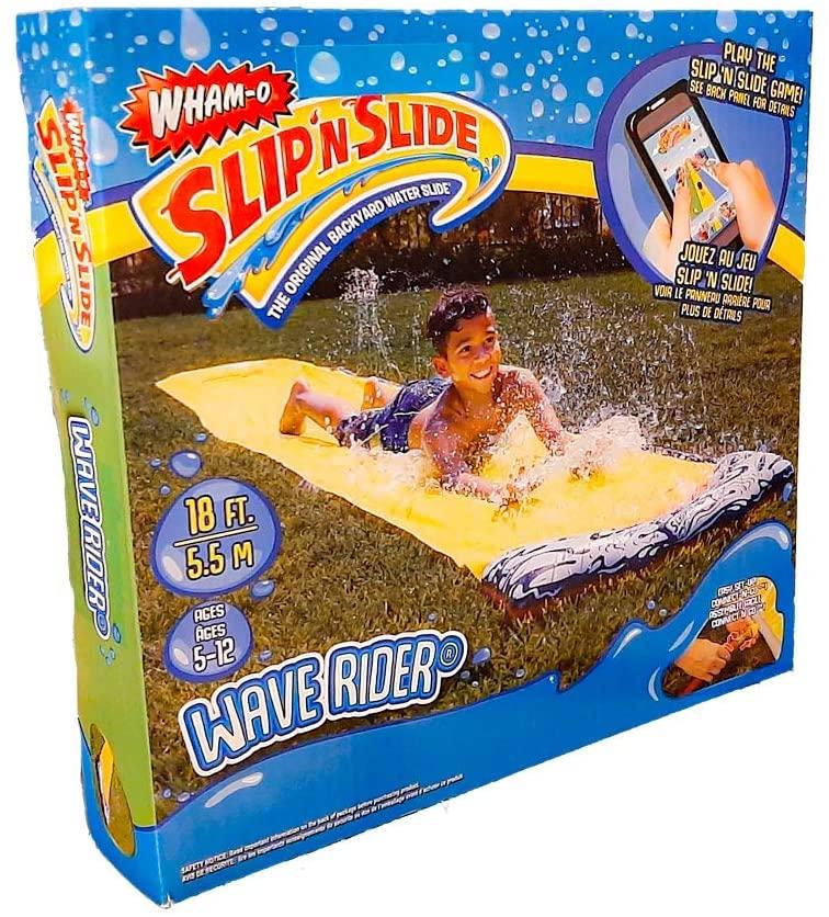 מגלשת מים יחיד לחצר עם חיבור לצינור - Slipn Slide