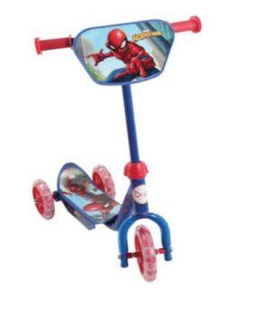 קורקינט 3 גלגלים ספיידרמן